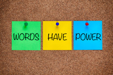 Phrase Words Have Power On Cor...
