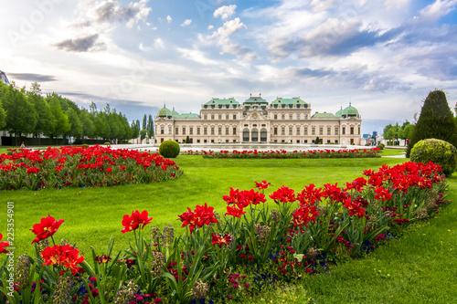 Fotografie, Obraz  Upper Belvedere palace, Vienna, Austria