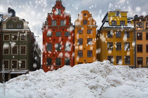 Winter in Stockholm. Sweden