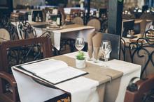 View Of Restaurant In Kotor, Montenegro