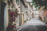 Fototapeta Uliczki - Medieval Village Ponteves in south France Provence