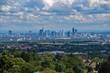 Blick auf Frankfurt am Main, Hessen Deutschland