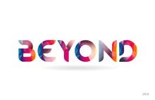 Beyond Colored Rainbow Word Te...