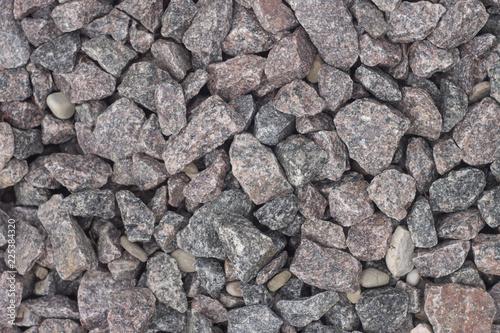 In de dag Stenen Road stones gravel texture,