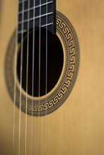 Detail Of The Acoustic Guitar