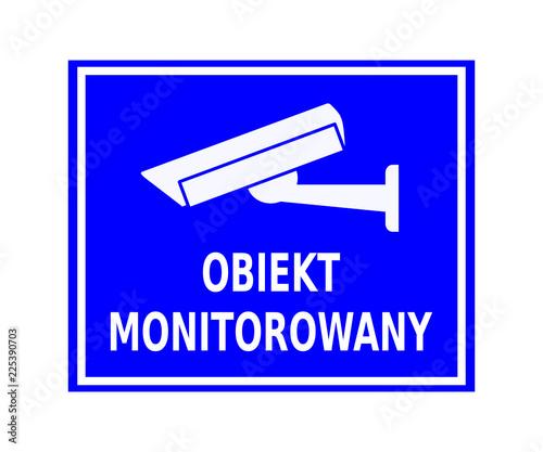 Fotografia obiekt monitorowany