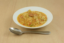 Chicken Sausage Gumbo Soup Wit...