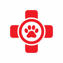 Pet First Aid Vector Icon