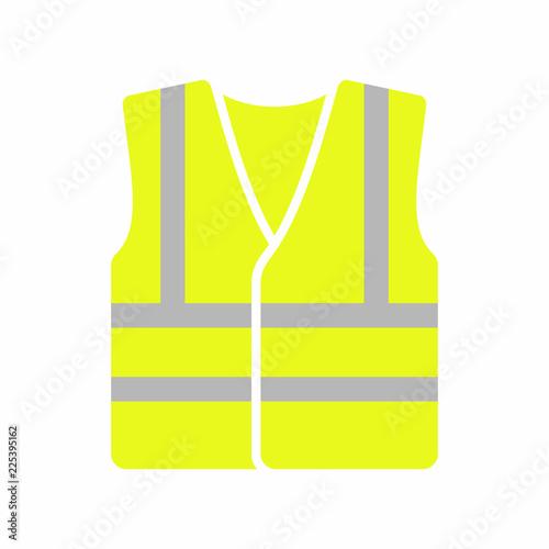 Pinturas sobre lienzo  High visibility vest icon