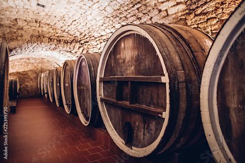 Foto op Plexiglas Retro Vintage Wine Cellar
