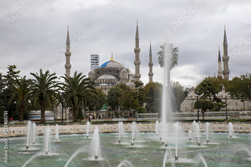 Poster Turkije The Blue Mosque, Istanbul, Turkey