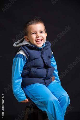 Fotografía  Little boy laughing