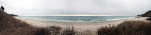 Winter Beach Panorama