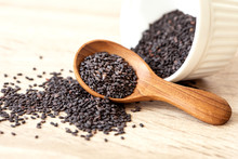 Organic Black  Sesame Seeds In...