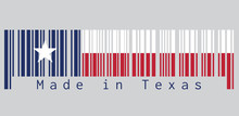 Barcode Set The Color Of Texas...