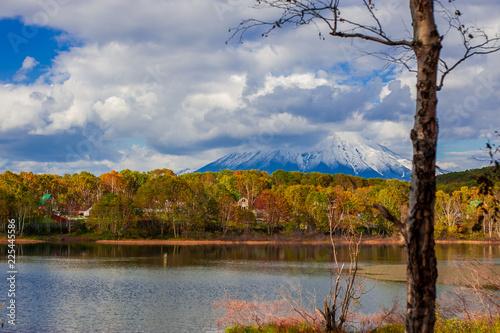 Foto op Canvas Herfst Landscape