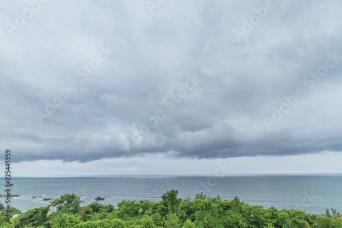 Staande foto Zee / Oceaan 夏の米山サービスエリアからみた日本海の風景