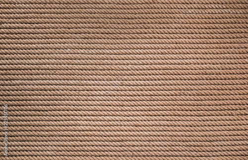 Photo  rough natural rope texture for background, full frame, marine concept