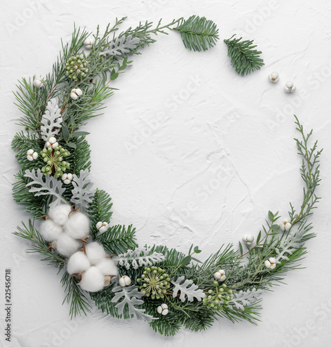Valokuva Christmas composition
