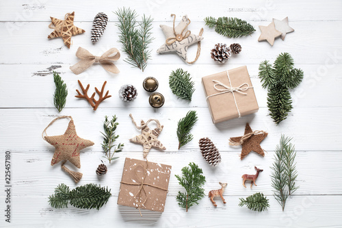 Christmas composition Canvas-taulu