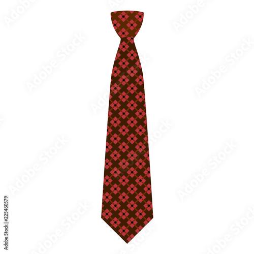 Fotografie, Obraz  Elegant tie icon