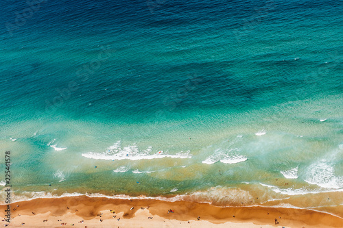 Canvas Prints Countryside tropical beach and sea
