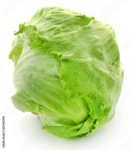 Foto Fresh Iceberg Lettuce