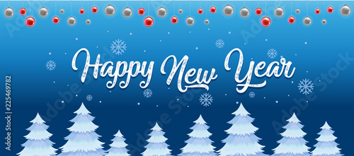 Staande foto Kids Happy new year template