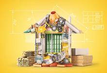 Construction Concept. Building...