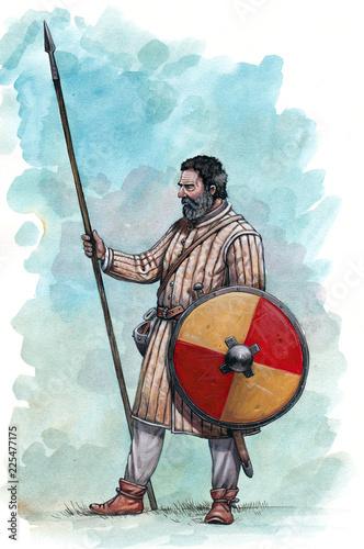 Cuadros en Lienzo Medieval knight