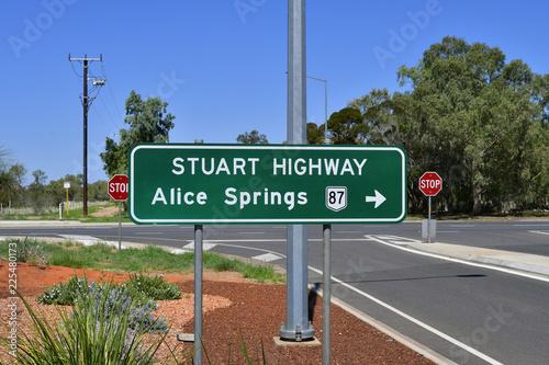 Staande foto Oceanië Australia, NT, Alice Springs