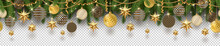 Christmas Golden Decoration An...