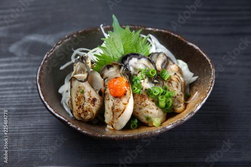 牡蠣のおろしポン酢
