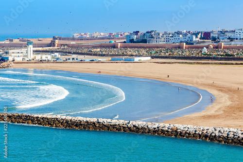 Foto op Plexiglas Marokko Rabat in Morocco