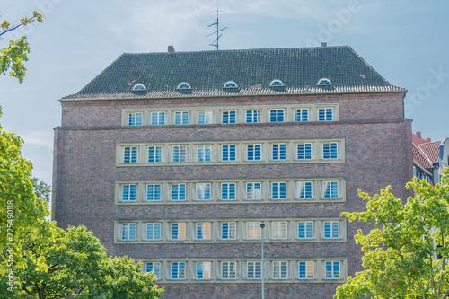Foto op Aluminium Oude gebouw Altes Gebäude