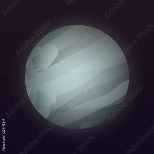 Photo  Pluto planet icon