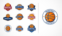Basketball Logo, Emblem, Icons...