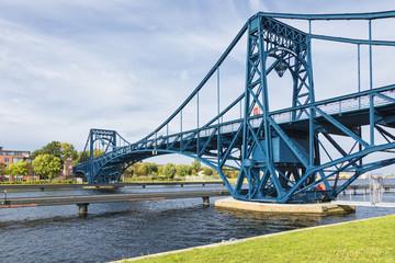 Kaiser Wilhelm Bridge at Wilhelmshaven, Lower Saxony, Germany