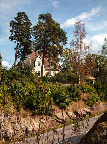Photo  House near the street,Lidingo