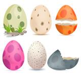 Fototapeta Dinusie - Dino egg
