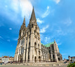 Cathedral of Our Lady of Chartres in France