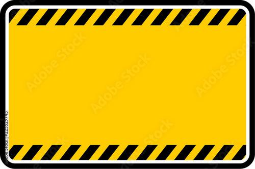 Carta da parati  warning, sign vector