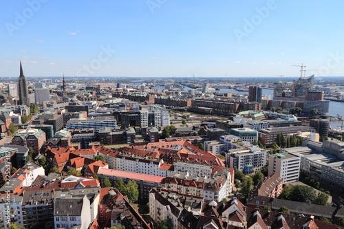 Obraz na plátně Hamburg city, Germany