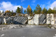 marble mining, quarry, raw marble