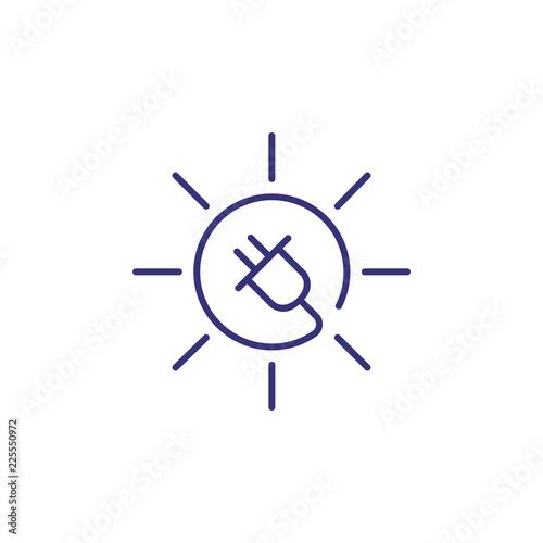 Foto  Solar energy concept