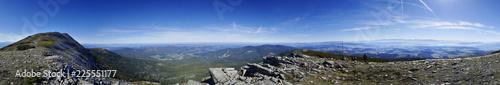 Panorama z Babiej Góry Diablak okolice - Tatry