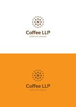 Coffee Company Logo Teamplate.