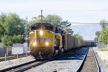 Train On Tracks, Locomotive, Engine,transportation,