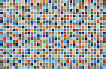 Colorful Mosaic Wall Background