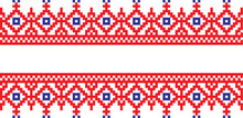 Embroidered Pattern On Transpa...